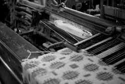 Weaving at Solva